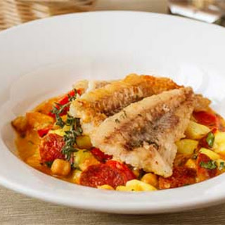 Spanish Fried Cod with Eintopf