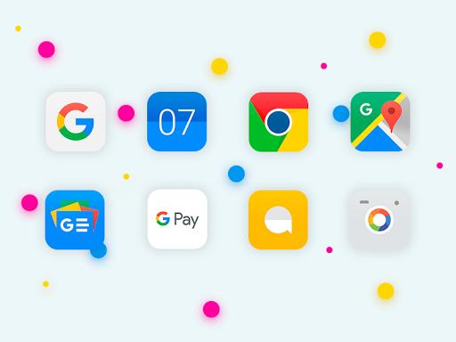iOS 11 - Icon Pack 1.0.12 Screenshots 6