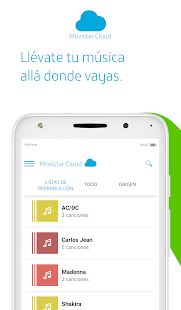 Movistar Cloud- screenshot thumbnail