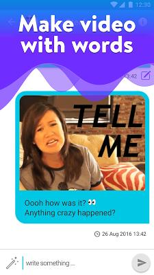 Kweak·ly: Video messages - screenshot
