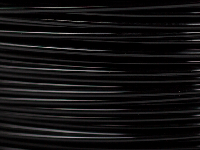 Black MH Build Series PETG Filament - 1.75mm (1kg)