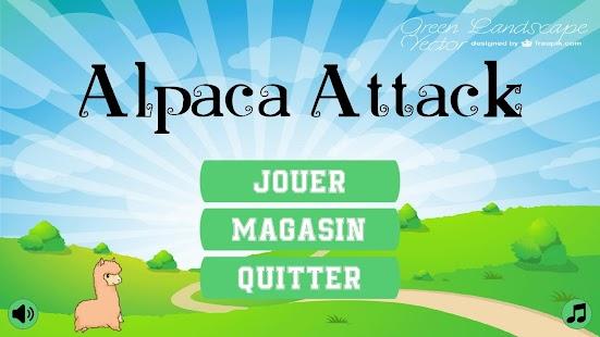 Alpaca Attack - náhled