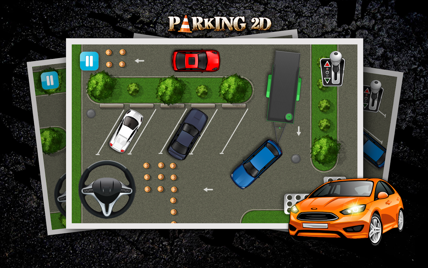 Parking 2D- screenshot