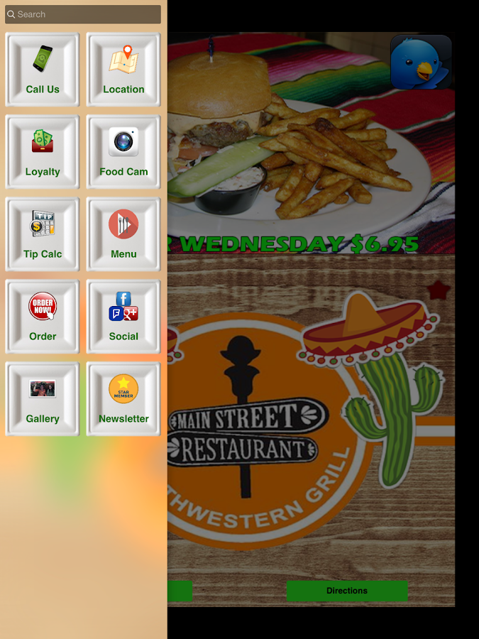 Main Street Restaurant- screenshot