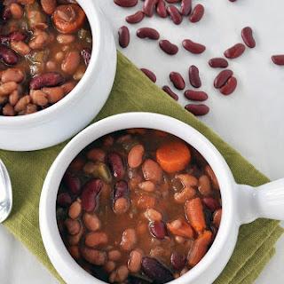 3 Bean Vegetable Soup