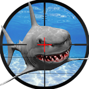 Underwater Tiger Shark Attack FPS Sniper Shooter APK for Bluestacks