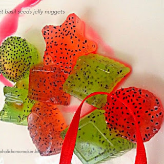 Basil Seeds Jelly Nuggets