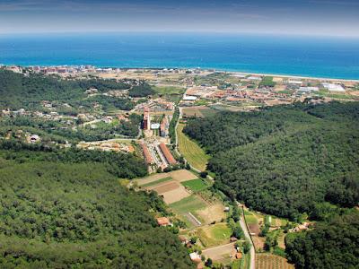 SANTA SUSANNA - Aerial photo