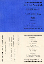 Photo: Club's first membership card 1961