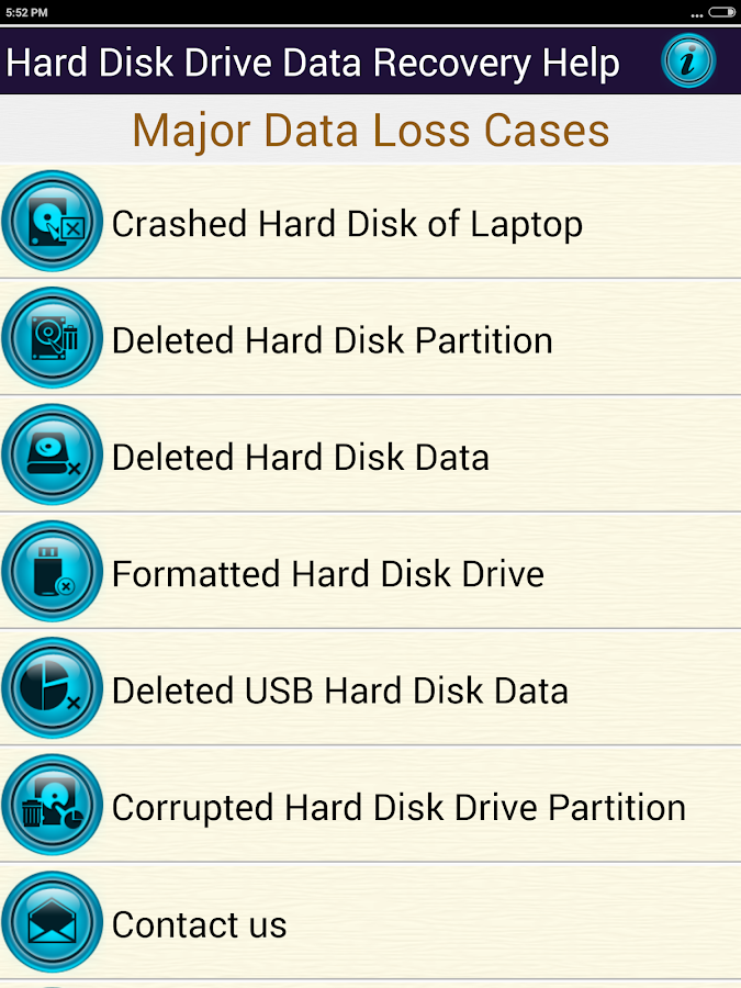 how to recover storage for a hard drive