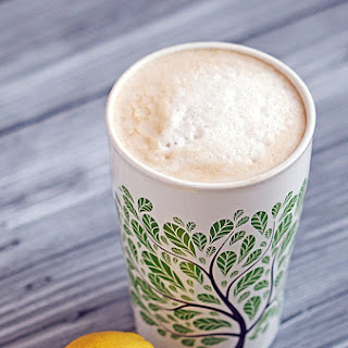 Vanilla Lemon Soy Latte