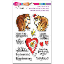 Stampendous Perfectly Clear Stamps 4X6 - Gorilla Love