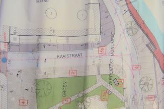 Photo: Groen pleintje rechtover de Dekenij