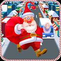 Happy Santa Run : Christmas fun challenge icon