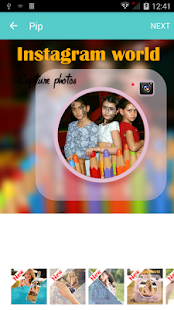 Pip Camera Selfie Pro - No Ads Screenshot