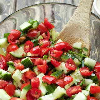 Mediterranean Cucumber Tomato Salad