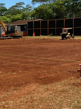 Photo: The admin building will include an area for the SASA, clerks, and registrar, the Health Room, a PCNC/Transition Center/PTO room, a principal's office and two vice principal offices, a meeting/conference room, storage space, and an area for the