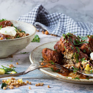 Moroccan Meatballs and Giant Couscous.