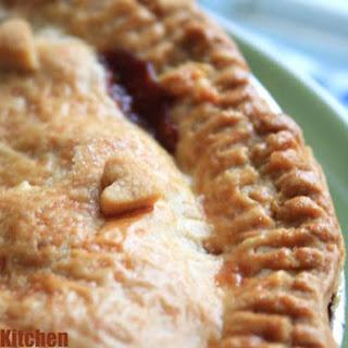 Quick Apple Ginger Pie.