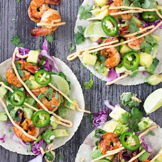 Zesty Shrimp Tacos with Pineapple Salsa