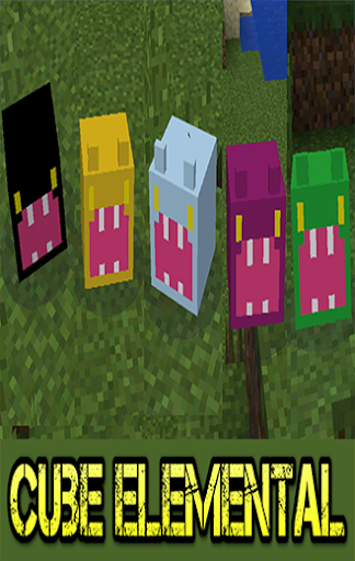 Cube Elemental For MCPE