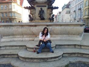Photo: Herkulesbrunnen und ich