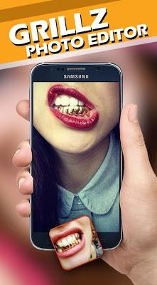 Grillz Teeth Camera - screenshot