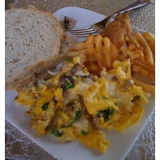 Fancy Scrambled Eggs.
