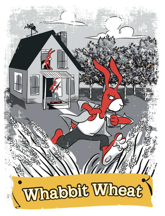 Logo of Red Hare Whabbit Wheat Ale