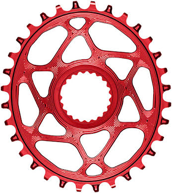 Absolute Black Oval Direct Mount Chainring - Shimano Direct Mount, 3mm Offset, Requires Hyperglide+ Chain alternate image 0