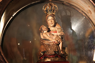 Photo: Madonnafiguren på nært hold