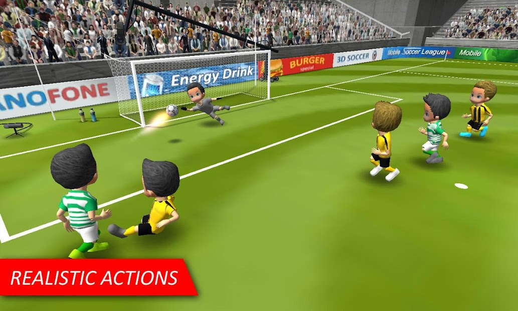 Mobile Soccer League Android App Screenshot
