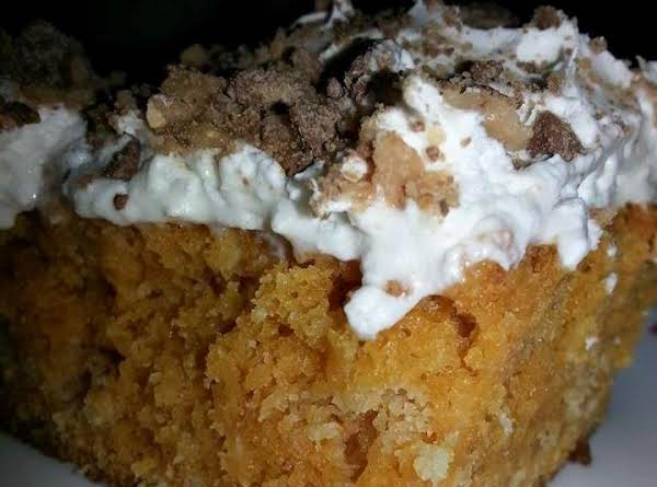 This Version Has Cool Whip Topping And Heath Bar Bits On Top.