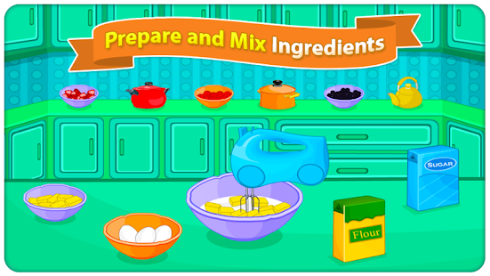 Berry Sponge Cooking Games- screenshot thumbnail