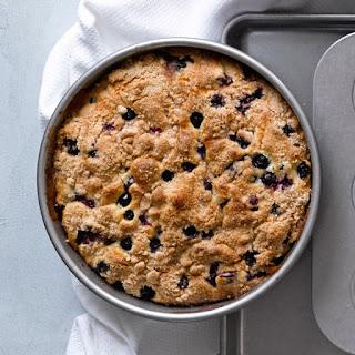 Blueberry Crumb Cake.