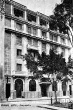 Photo: Grande Hotel, localizado na Rua do Imperador e hoje em restauração. Provavelmente foto da década de 30 ou 40