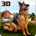 Farm Dog Chase Simulator 3D icon