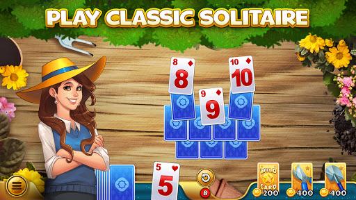 Solitales: Garden & Solitaire Card Game in One apktreat screenshots 1