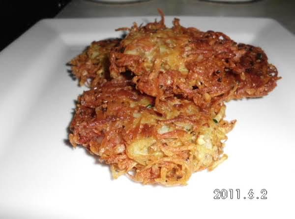 Bacon & Potato Patties