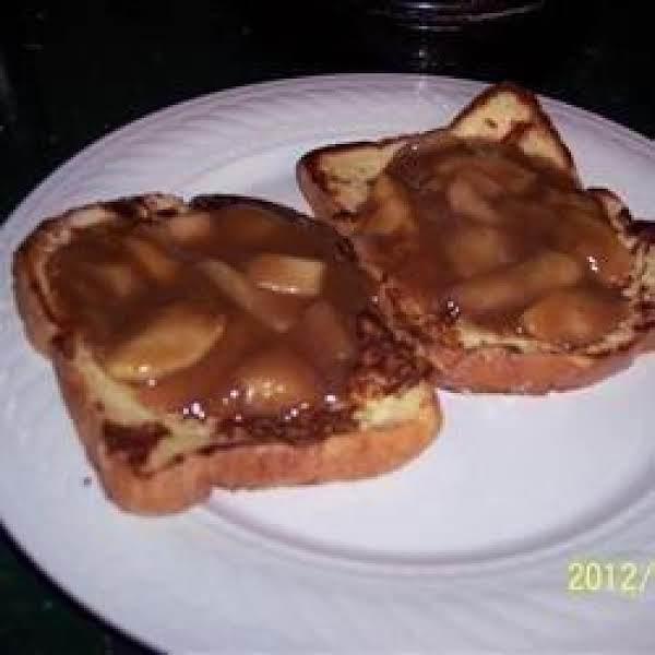 Butterscotch Apple Sauce