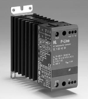 Statisk kontaktor 24-230VAC/DC, 10 A, 3-fas