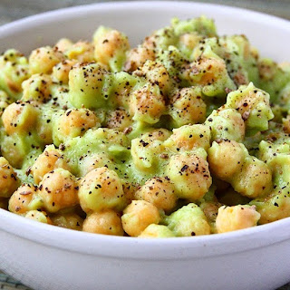 Avocado Chickpea Salad.