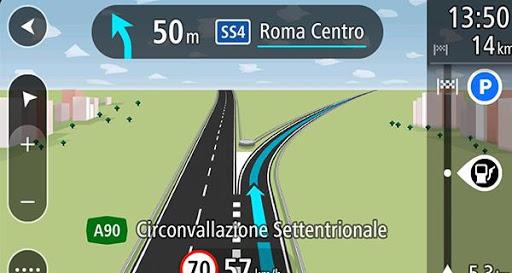 GPS 네비게이션 교통 안내