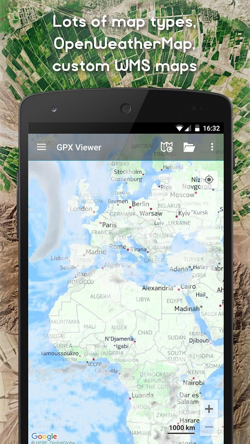 GPX Viewer - Tracks, Routes & Waypoints- screenshot