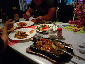 Photo: dinner at the worst hotel ever is actually very tasty