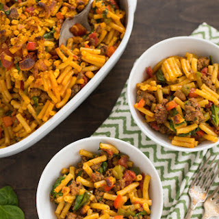Taco Mac & Cheese with Veggies