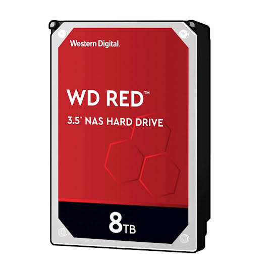 Western Digital Red 8TB 256Mb cache/3,5