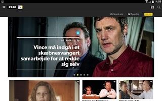Screenshot of DR TV