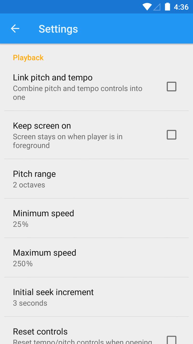 Music Speed Changer Screenshot 5