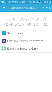 Swagbucks- screenshot thumbnail